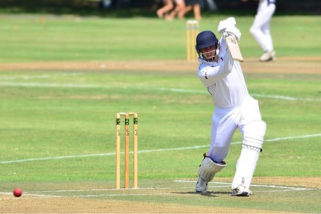 Will Clarke pierces the covers